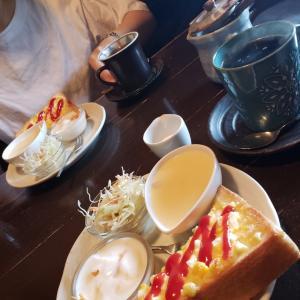 久しぶりの喫茶店へ♡