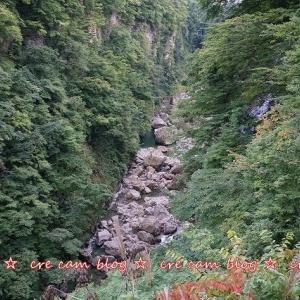秋田 『小安峡大噴湯』 観光