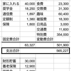【ゆる考察】10月家計簿とキャッシュレス生活 50万超えの支出で大幅マイナス!