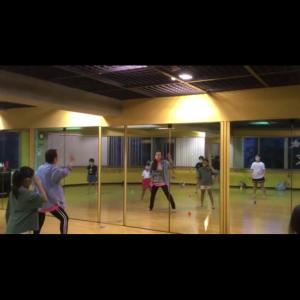 初出勤とダンス教室。