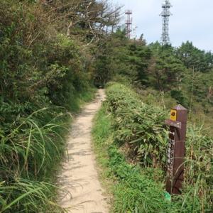 摩耶山から六甲山最高峰へ