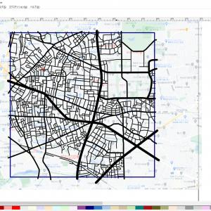 地図制作中