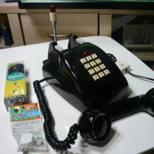 これしかない高級黒電話機・超激レア