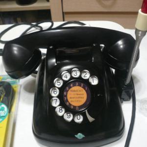 ずぅーっと使える黒電話。かっこいい4号機