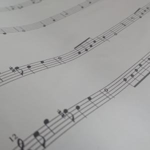 知ってる曲で音読み練習