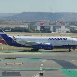 クバーナ(CU471) IL96-300 マドリード/MAD~ハバナ/HAV サンティアーゴ・デ・クーバ/SGU経由 搭乗記【クバーナ航空のイリューシン96】