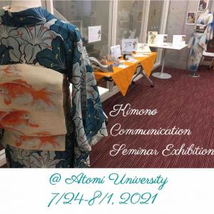 Kimono Communication Seminar Exhibition