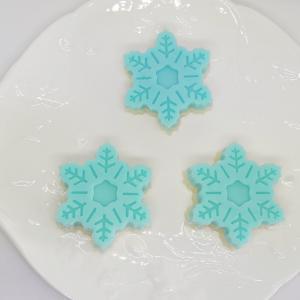 ☆型から出すのが早かった雪の結晶型の手作り石けんやり直して、その後…☆