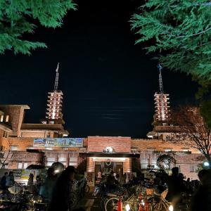 ☆週末に旧甲子園ホテルのライトアップへ~☆