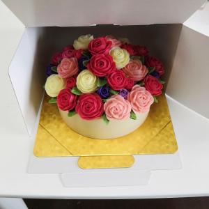 ☆入籍する日に送るフラワーソープケーキを発送する準備ができました @兵庫県西宮市☆