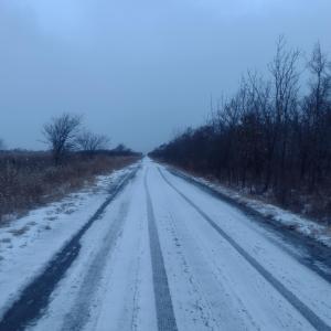 ☆苫小牧某所☆雪道