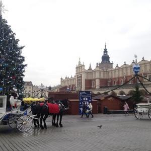 クリスマスマーケットと靴下