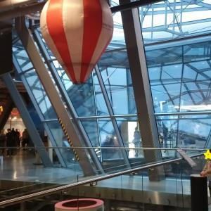 ワルシャワ:科学博物館つづき!