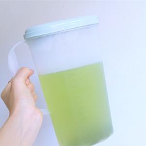 水だし緑茶と保冷剤