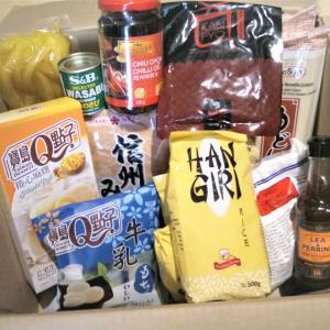 今月のアジア食材とラーメン
