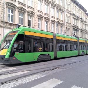 ポズナン観光トラム・バス