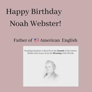お誕生日おめでとう,アメリカ英語のお父さん!