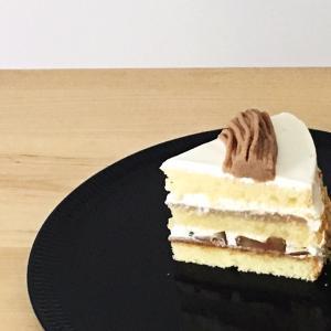 栗のショートケーキの構成♪