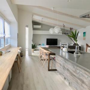 *Web内覧会15 入居後LDK&掲載紹介* 明るく広く な2階リビングの家