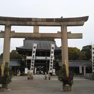 真清田神社の左義長
