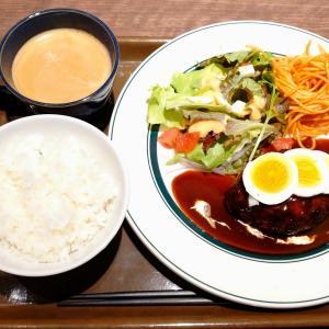 「本日オープン、ブランチ神戸学園都市1Fフードコート内洋食ビストロ~ハンバーグセット~デミグラ」