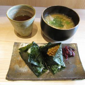 「本日オープン、JR摂津本山駅北東のシェアキッチンで月曜のみ営業の和歌山のおにぎり家~卵黄」