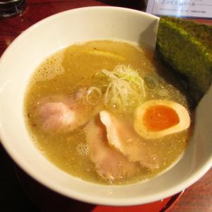 「本日オープン、阪神電車石屋川駅南東の昼限定営業の支那そば屋~全粒粉麺・鶏ガラ野菜スープ」