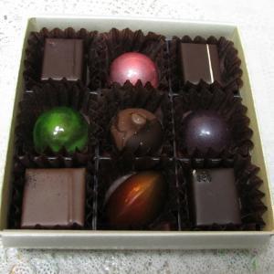 「先々週販売スタート、北野工房のまち北向かいショコラトリーの新作ボンボンショコラ~既販売チョコ」