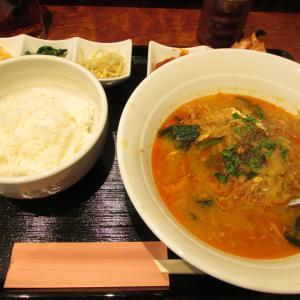 「本日プレオープン、ウェルブ六甲道3番街2番館の1Fの韓国スープ専門店~テグタンスープ定食」