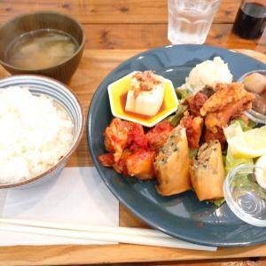 「先々週オープン、有馬街道西沿い、神戸大学医学部附属病院西向かいのカフェ~ミックスプレート」