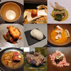「グルメガイド複数掲載、北野坂東沿いビルB1Fフレンチと中華のイノベーティヴレストラン~ランチ」