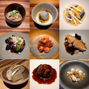 「一昨日オープン、兵庫県公館南西のフランス星付きレストラン出身シェフと奥様のレストラン」