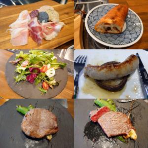 「本日オープン、神戸海星女子学院大学南西の精肉・加工肉・朝採れ野菜・肉料理全般店~お任せコース」