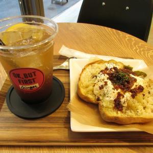 「先々週オープン、鯉川筋・元町通1交差点北東のベイクドポテト&オーバーシェイク等のカフェ」