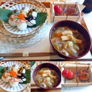 「←先々週オープン、JR摂津本山駅北東のシェアキッチンで月曜のみ営業のおにぎり屋さん~こにぎり」