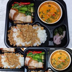 「←先週期間限定?オープン、大丸神戸店地1階に食べログ3.5ポイント獲得のタイ料理惣菜店~弁当」