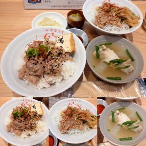「先月開店、国道2号線南沿い、友田町交差点南東のルーローハンと台湾麺、点心のお店~ルーローハン」