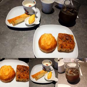 「先週オープン、ハンター坂の東の筋のシェアキッチンで金曜のみのパンとスイーツのカフェ~プレート」