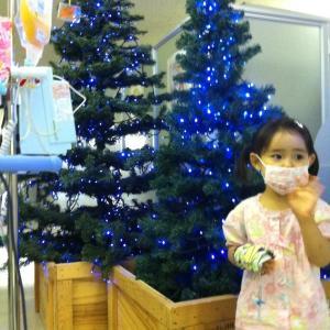 病棟で迎えるクリスマス