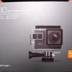 Apeman A80 アクションカメラ使ってみた