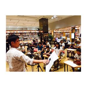 Ukulele workshop at みらい長崎ココウォーク