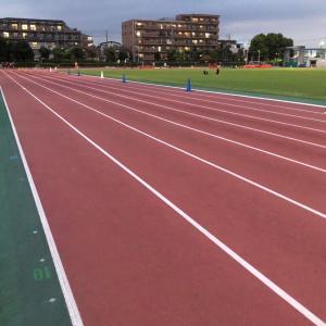 インターバル走400m x 5本 + 3km走、ヴェイパーフライ新色