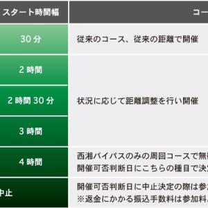 湘南国際マラソンはエントリーしない予定、坂道練習