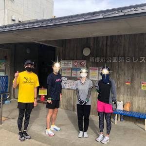 バーチャルハイテクマラソン結果@新横浜公園練習会