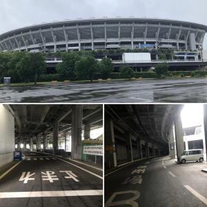 日産スタジアム回廊ラン