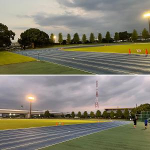 5km+2km@海老名陸上競技場、100kmウルトラレース
