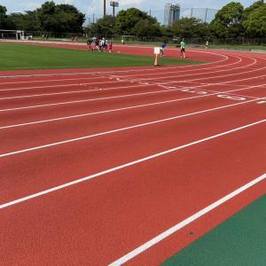 3km+2km@夢の島陸上競技場