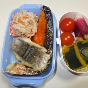 鮭塩焼き・ハモソテー・切干大根
