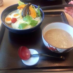 ごま味噌つけ麺を食べました