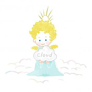 ふわふわ雲